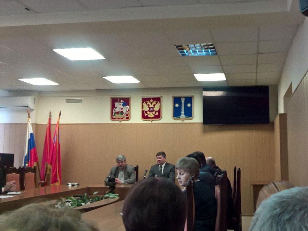 Плановое совещание в администрации 3.04.2017