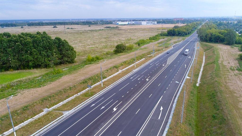 Новая объездная дорога открылась в Коломне