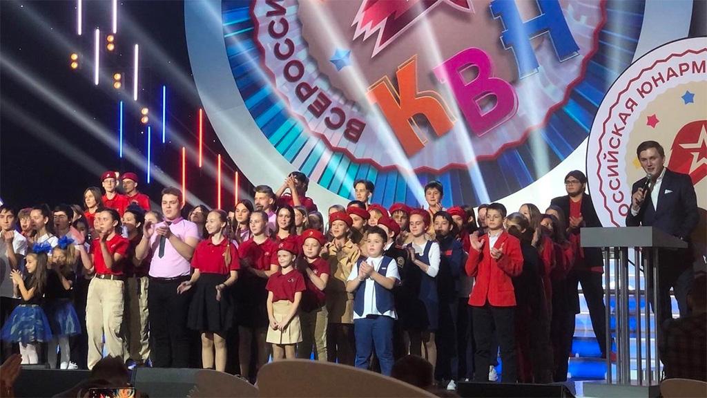 Команда План X выступила в Юнармейской лиге КВН